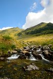 A River Mountain Landscape Stock Image