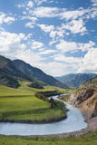 River in mountain. Stock Photo
