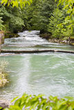 River in the mountains. River in the mountains of Abkhazia Royalty Free Stock Photo
