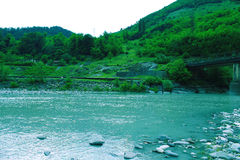 River in the mountains. Royalty Free Stock Image