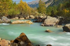 River in mountains Royalty Free Stock Photo