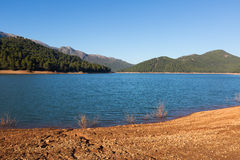 River in mountains. Guadalquivir. River, Andalusia stock photography