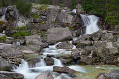 River in the mountains Royalty Free Stock Image