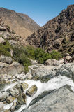 River in the mountains of Morocco Stock Photos