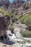 River in the mountains of Morocco Stock Photography