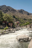 River in the mountains of Morocco Royalty Free Stock Images