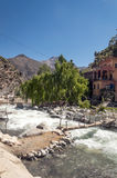 River in the mountains of Morocco Royalty Free Stock Photos
