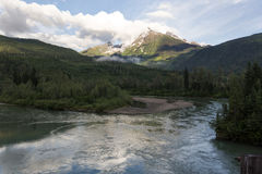 River and mountains Royalty Free Stock Photography