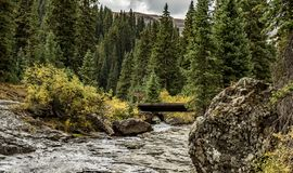 A river in the mountains royalty free stock image