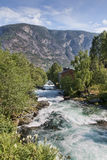 River in the Mountains Stock Image