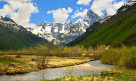 River in mountains Stock Image