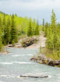 River in the mountians Stock Photo