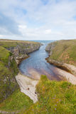 River Mouth at Smoo Cave Stock Photography