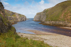 River Mouth at Smoo Cave Royalty Free Stock Photography