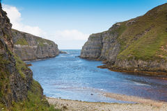 River Mouth at Smoo Cave Royalty Free Stock Image