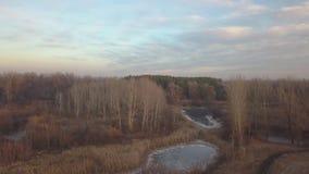 river, mrożone zbiory