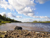 River msta Royalty Free Stock Photo