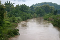 River in Muang Xai Stock Photography