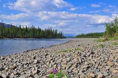 Free River Muksun, The Putorana Plateau. Royalty Free Stock Photography - 61815937