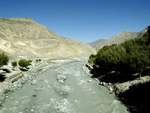 River in Mustang Royalty Free Stock Images