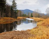 river in national park - fall time Stock Photos