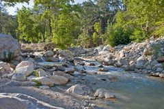 River near kemer Stock Photo