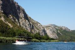 River near Omis, Croatia Royalty Free Stock Photos