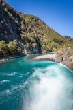 River Near Osorno Volcano Stock Photo