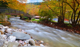 River near to lake Plastira Karditsa Greece Royalty Free Stock Photos