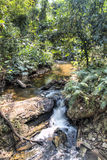 River near Wli waterfall in the Volta Region in Ghana Stock Photography