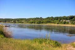 River Nemunas, Lithuania Stock Photography