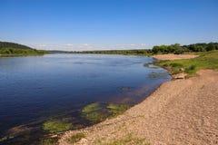 River Nemunas, Lithuania Stock Photo