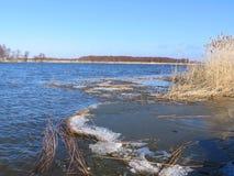 River Nemunas, Lithuania Stock Photos