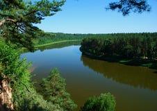 River Nemunas Stock Photo