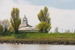 River nene lighthouse in Norfolk Royalty Free Stock Photo