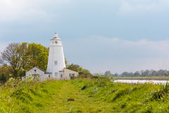 River nene lighthouse in Norfolk Stock Photos