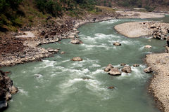 River in Nepal Stock Image
