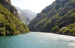 River Neretva Near Jablanica Royalty Free Stock Photos