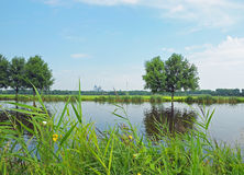 River in Netherlands Stock Photo