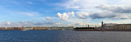 The river Neva Royalty Free Stock Photography