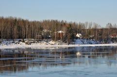 The River Neva.Russia Leningrad region Royalty Free Stock Photos
