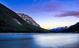 Kicking Horse River Stock Images