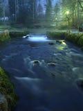 River at night Royalty Free Stock Photo