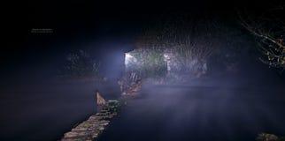 Nature - River III. River at Night - Adaufe Braga Stock Images