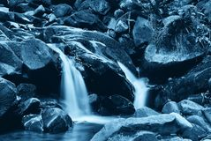 River in the night Royalty Free Stock Image