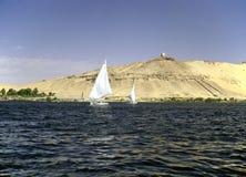 River Nile, Asuan Royalty Free Stock Photo