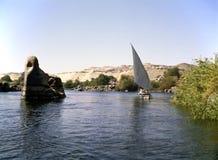 River Nile, Asuan Stock Image