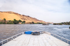 River Nile in Egypt Royalty Free Stock Photo