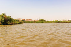 River Nile in Khartoum Royalty Free Stock Images