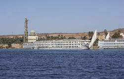 River Nile near Aswan in Egypt Stock Photography